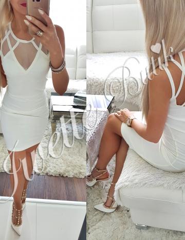 Sukienka Ecru Tila