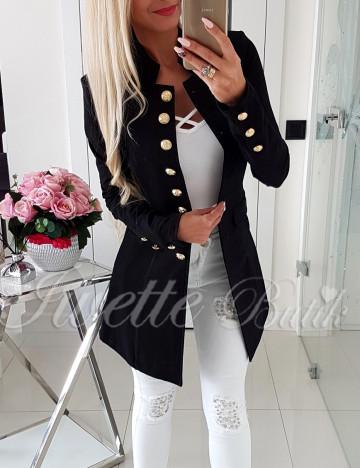 Płaszcz Czerń Paris