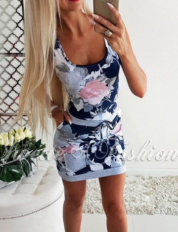 Letnia Maxi Sukienka Flowers II ♥