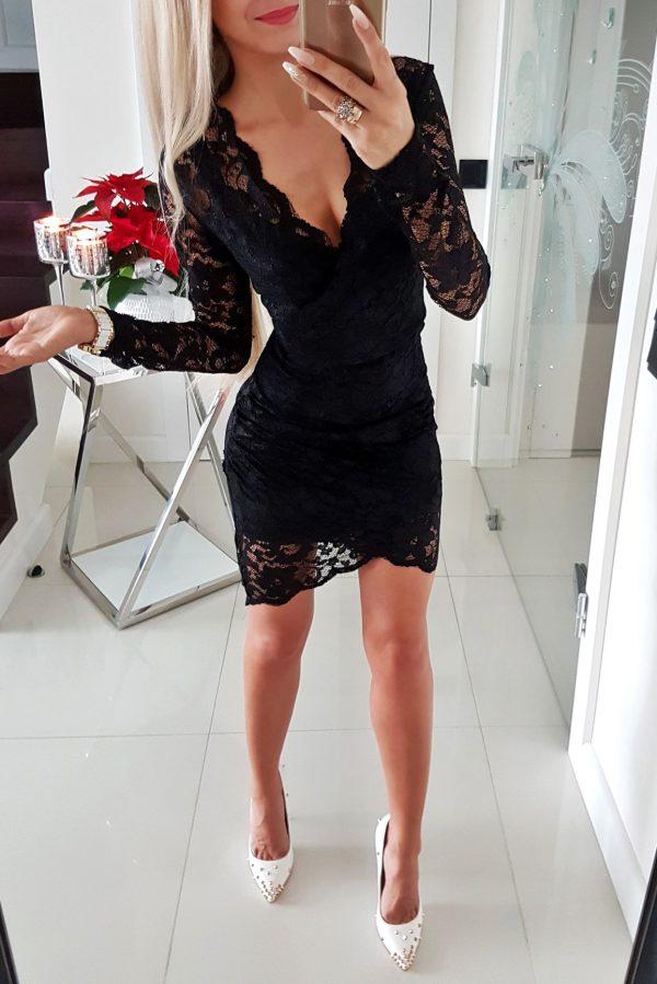 Sukienka Koronkowa Lily