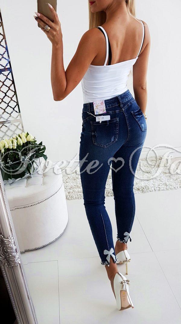 Spodnie Kokarda Cyrkonie