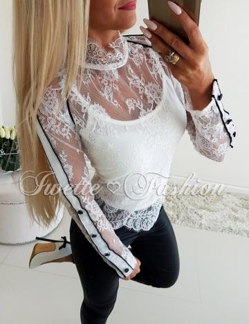 Top + Bluzka Koronka White♥