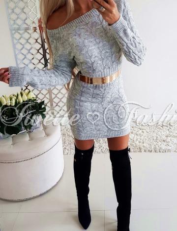Sukienka Warkocze Gray ♥