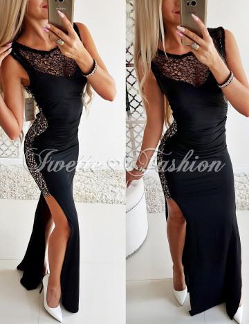 Elegancka Sukienka Maxi - 1 Jakość