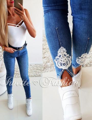 Piękne Spodnie z Koronka II ♥