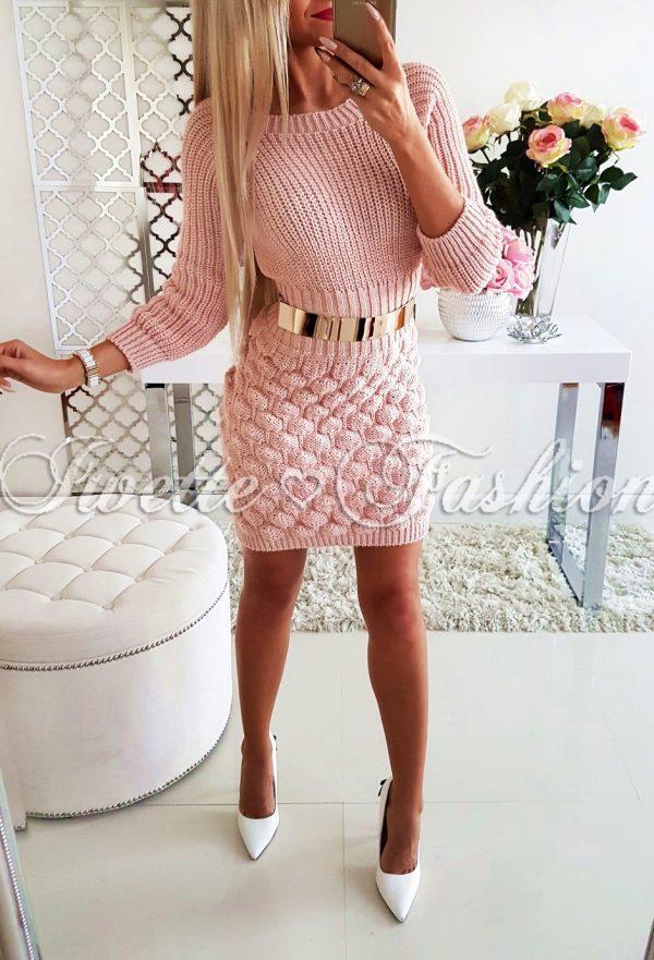 Sukienka Warkocze Pink II ♥