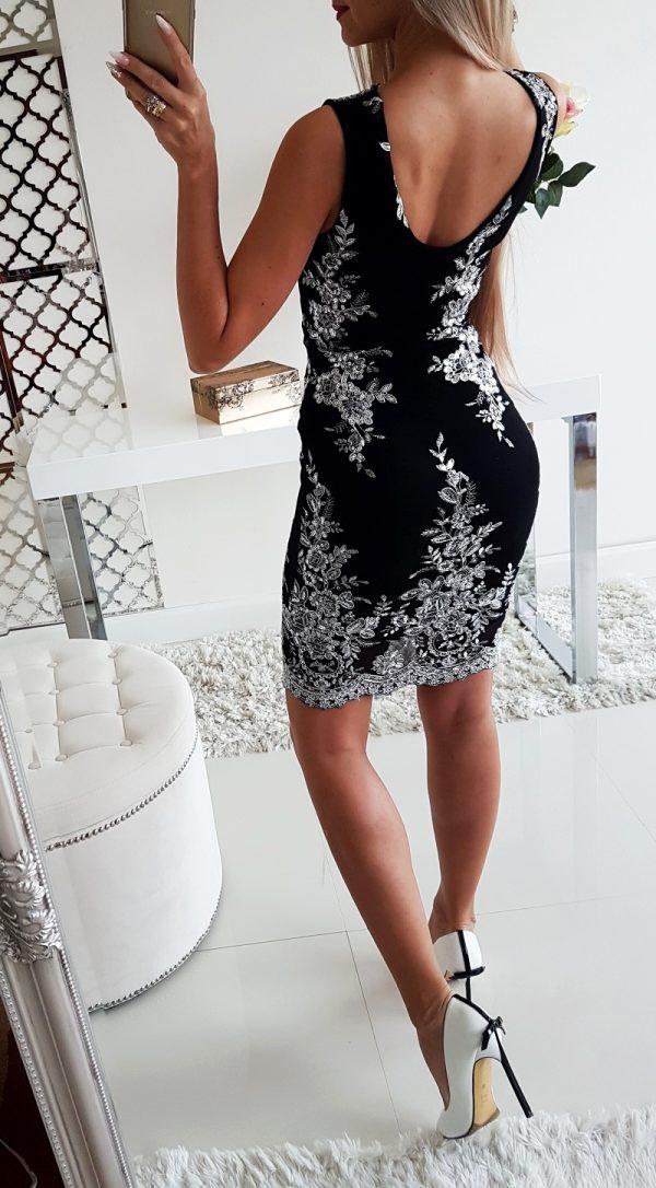 Sukienka Kwiaty Silver