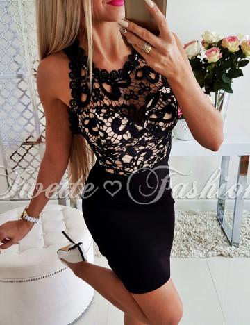 Sukienka Koronkowa Sandra