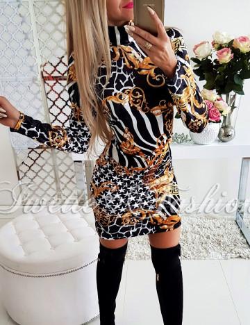 Sukienka Welur Panther II