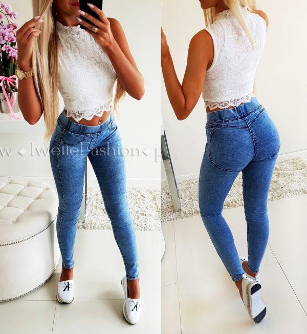 Spodnie Jeans Push Up
