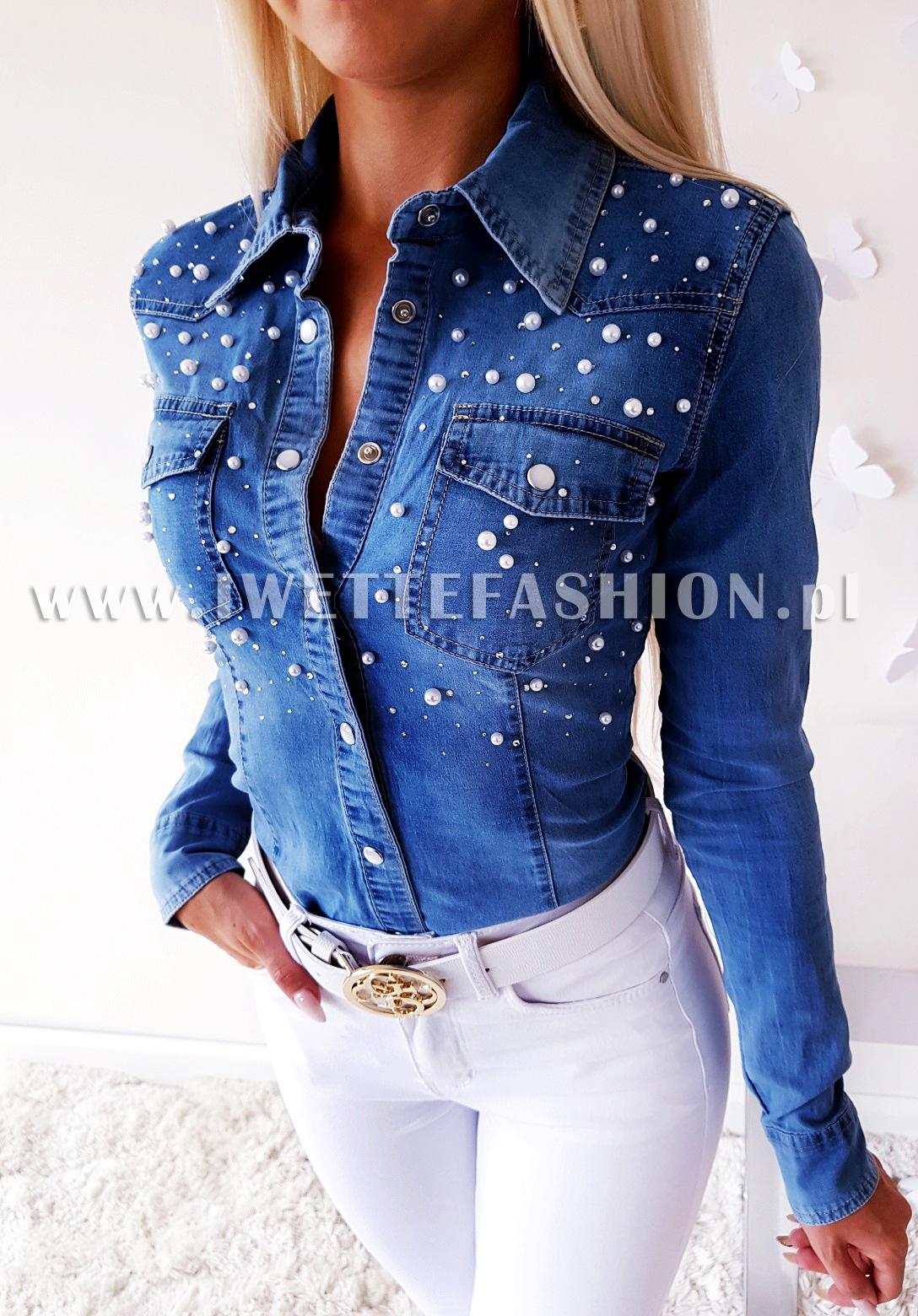 Рубашка Jeans Perły