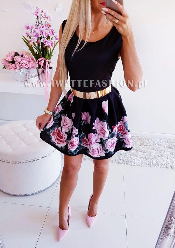 Sukienka Candi Czerń