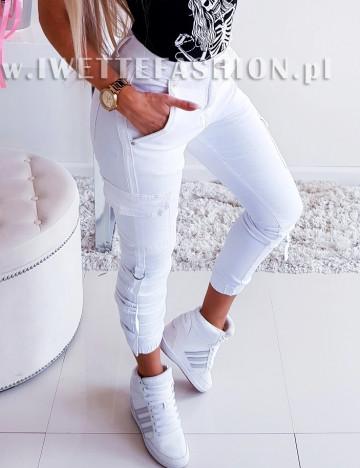 Spodnie Bojówki White