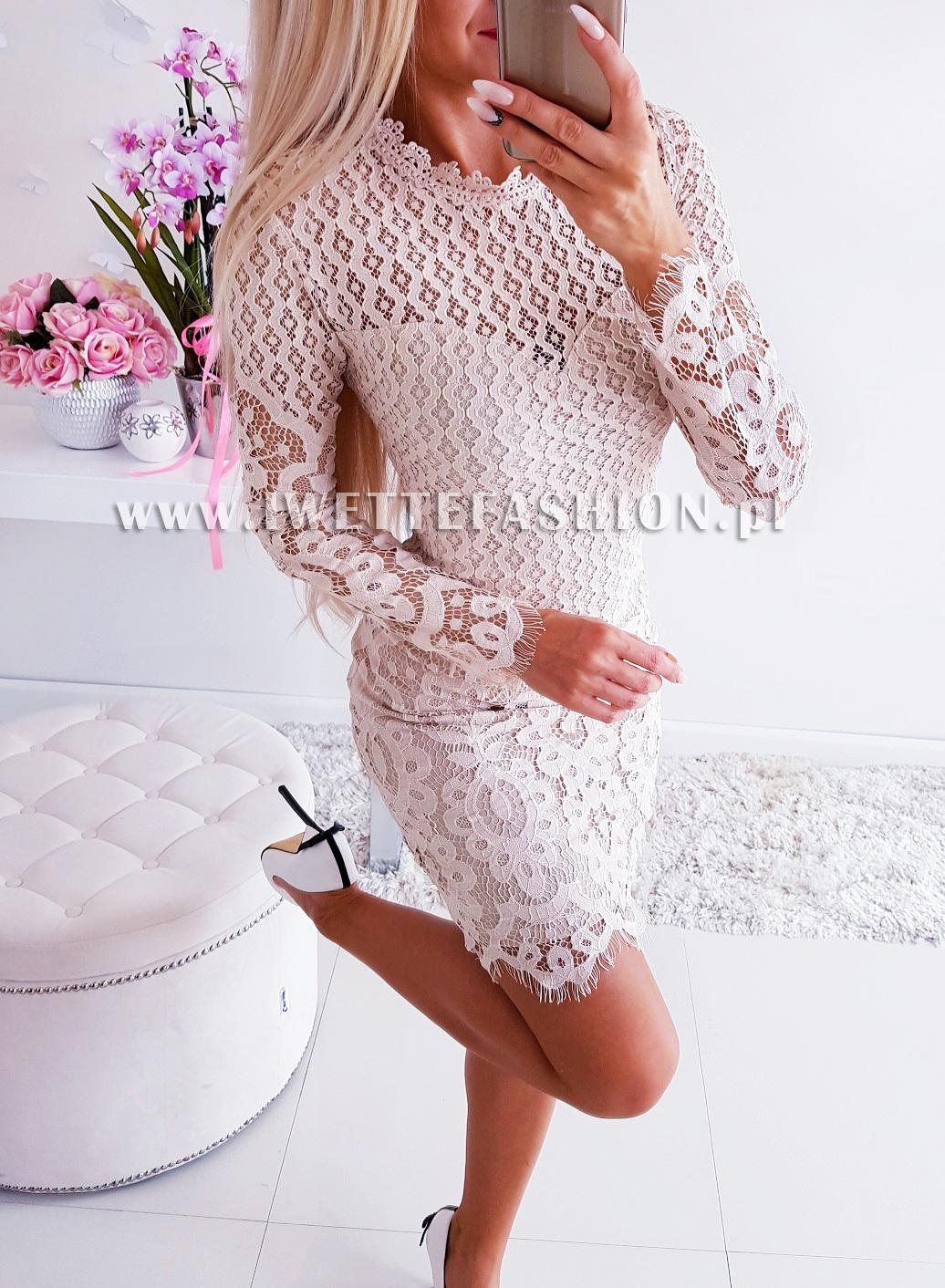 Платье Koronkowa Beige
