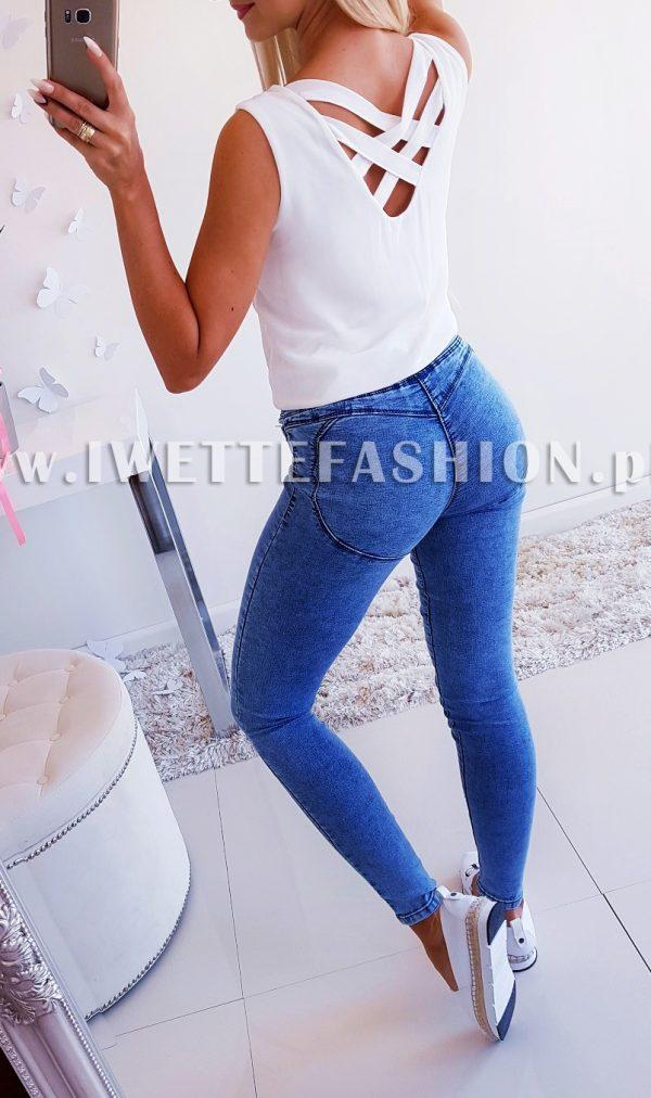 Bluzeczka Summer ZIP White