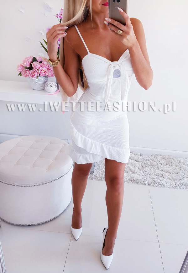Sukienka Elite Ecru