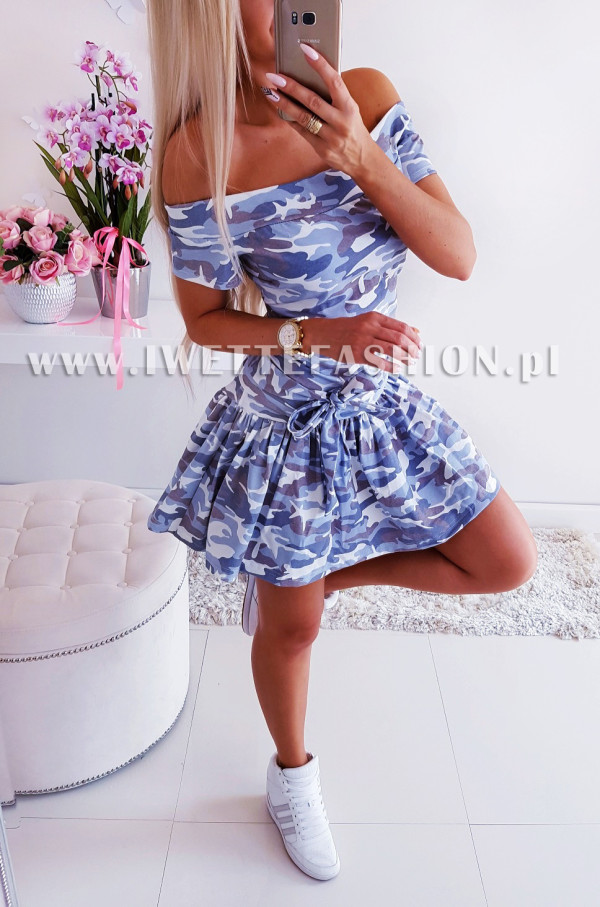 Sukienka Moro Blue