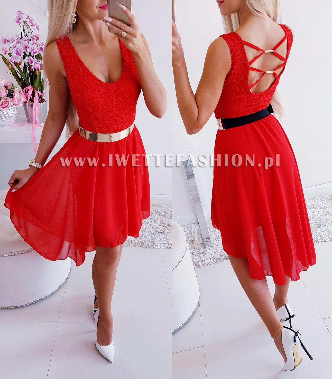 Платье  Alishia Red