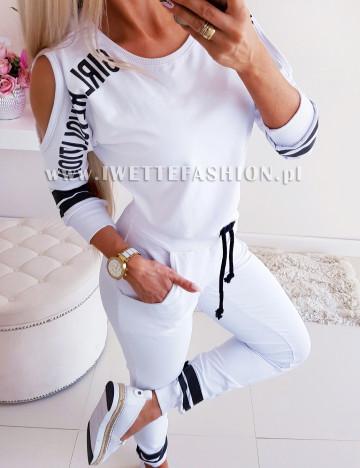 Komplet Dresowy Girl White