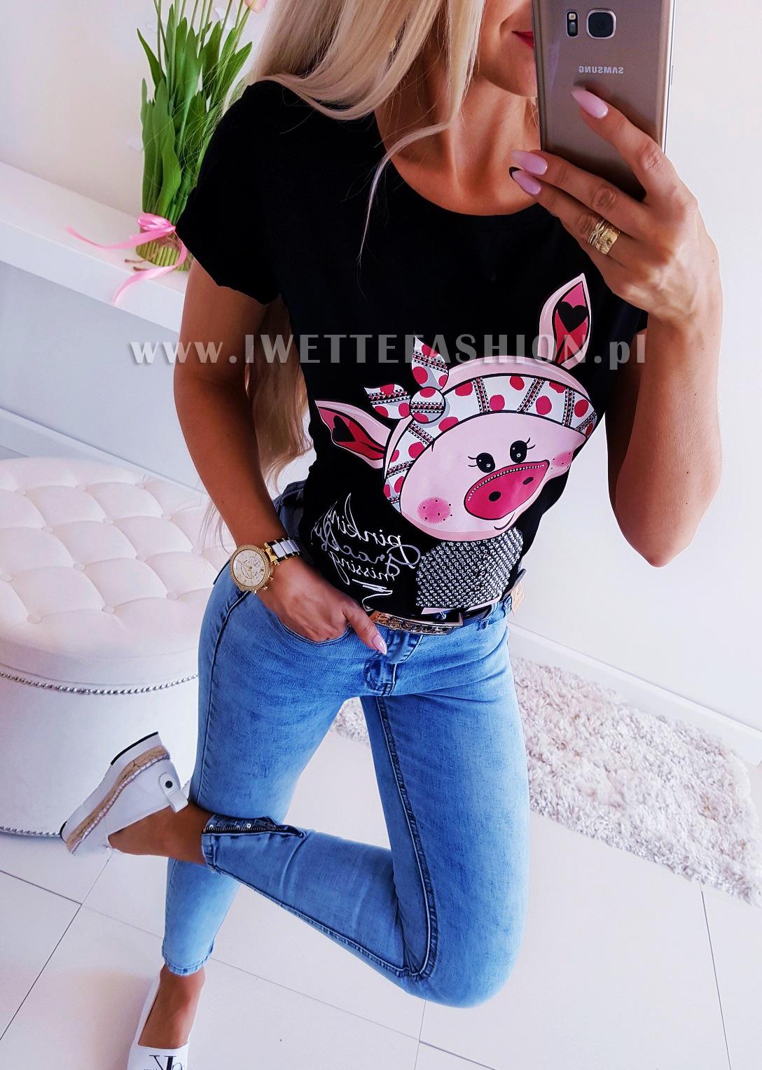 Блузка Sweet Piggy Black