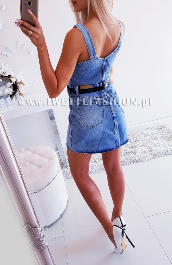 Sukienka Amanda Jeans ZIP