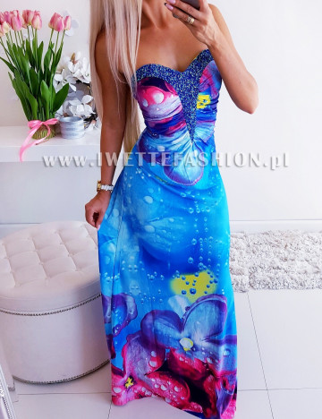 Sukienka Lovely Blue