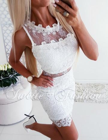 Sukienka Koronkowa Tendra