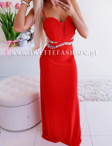 Sukienka Tiffany Czerwień