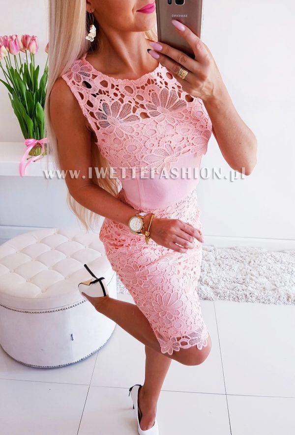 Sukienka Celine Puder