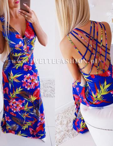 Sukienka Summer Blue [8692]