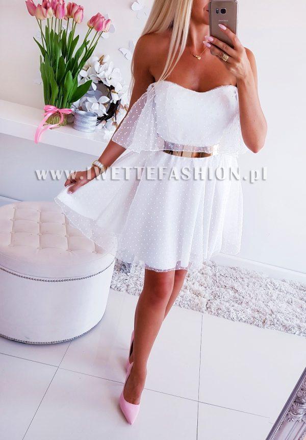 Sukienka Timmi Ecru