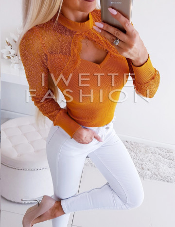 Sweter Bella Yellow