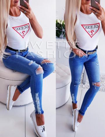 Spodnie Jeans Silvio 2253