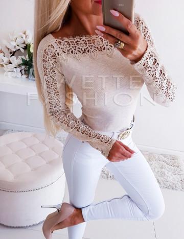 Sweterek Luiza Cream