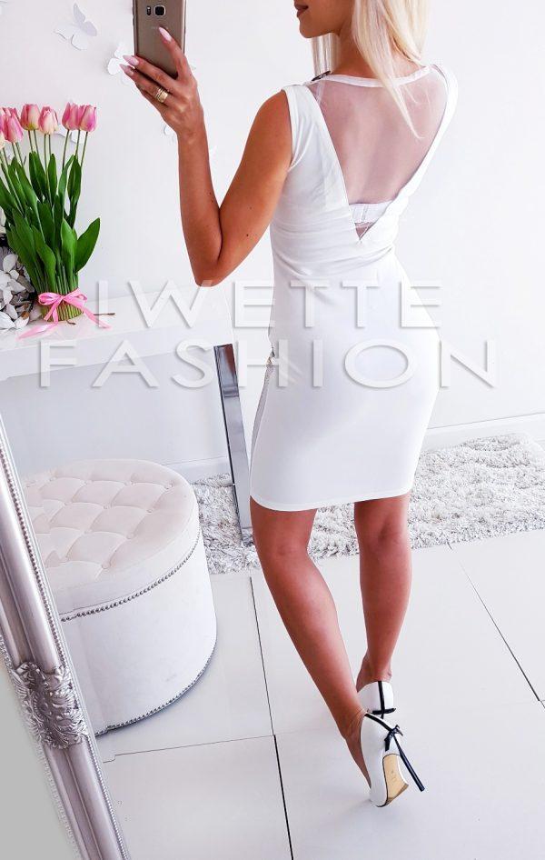 Sukienka Phanter White