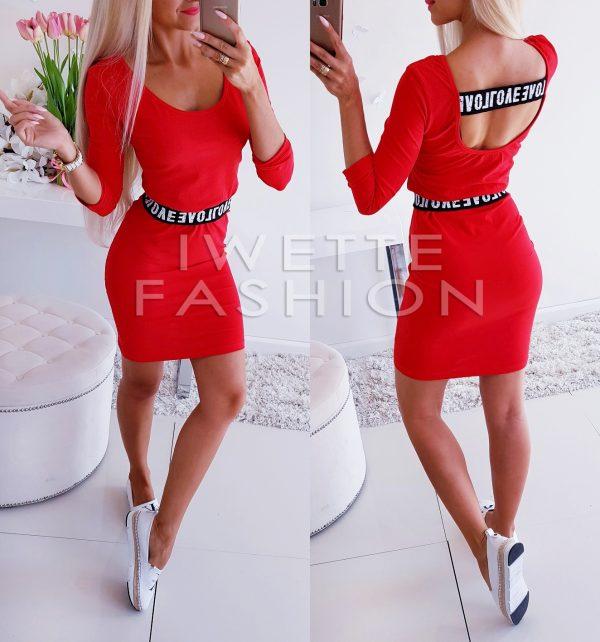 Sukienka Red Fashion