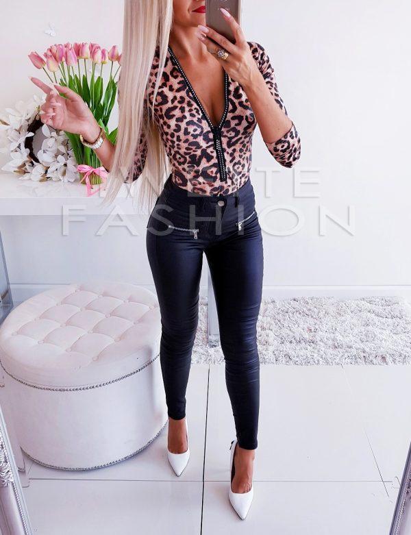 Spodnie Black Zamki