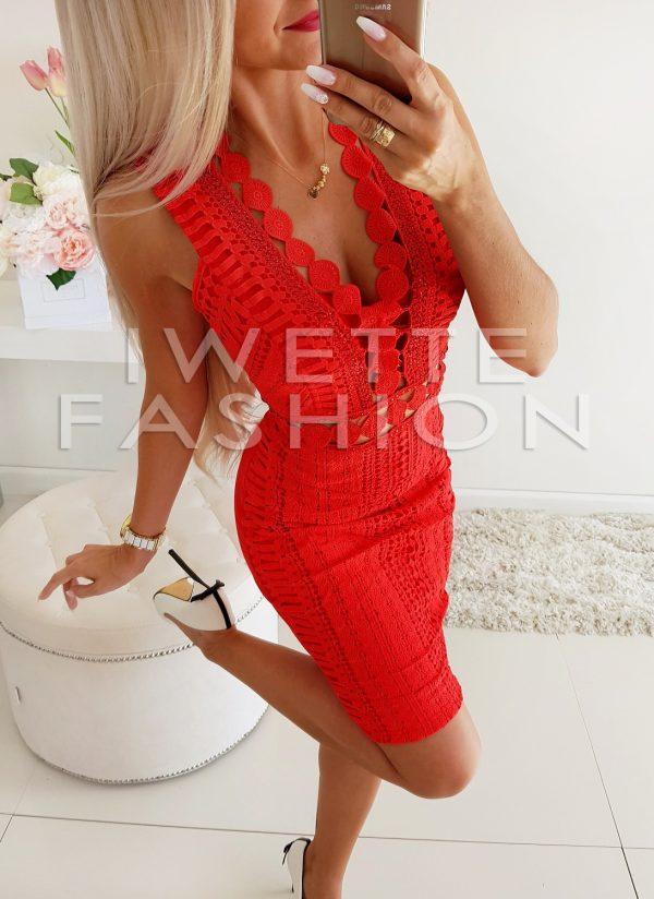 Sukienka Megan Red