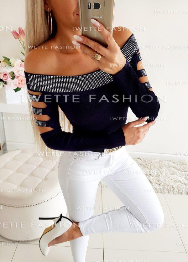 Sweter Megan Czerń
