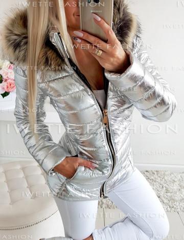 Kurtka Shine Silver