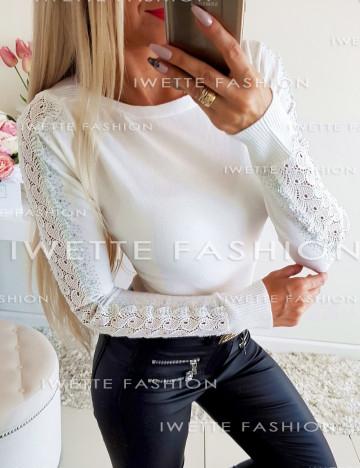 Sweterek Aurora Ecru 8859
