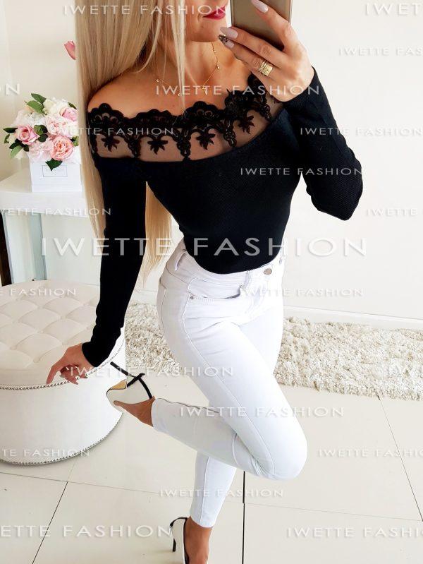 Sweterek Carmen Black