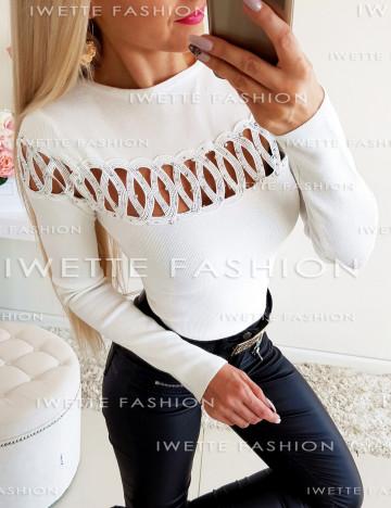 Sweterek Candria Ecru [17]