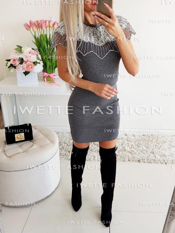 Sukienka Tiara Szara