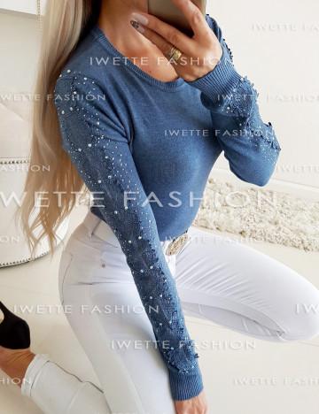 Sweter Stacy II Dark Blue [8860]