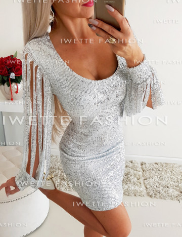 Sukienka Cekiny Silver