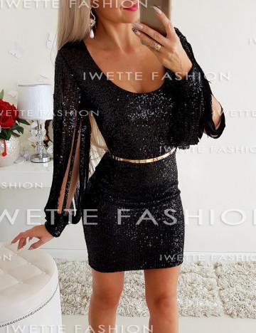 Sukienka Cekiny Black