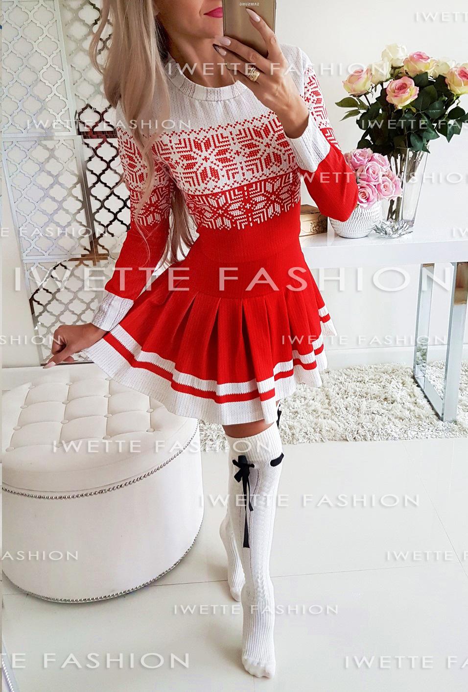 Платье Śnieżynka RED