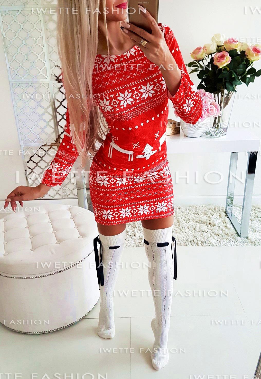 Платье Świąteczna RED