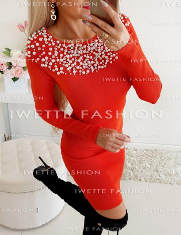 Sukienka Pearls Koral